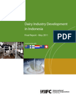 Indonesia Dairy Industry 2011