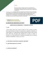 Ejercicios de Coherencia y Cohesic3b3n Textual