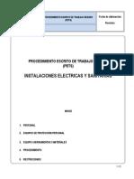 Procedimiento de Instalaciones Electricas y Sanitarias