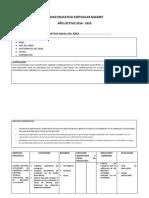 Plan Operativo Anual - Miguel Ruiz