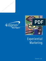 Blue Paper Experiential Marketing