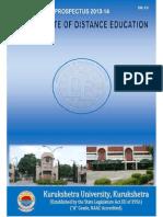 Kuk Main Prospectus 2013-14 as on 22072013(1)