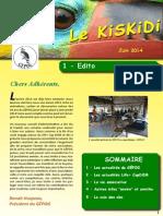 Kiskidi Juin 2014 Mini Bon