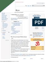 Mahāvākyas - Wikipedia