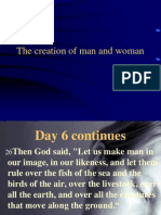 The 2nd Creation Story-Gods Design for Us