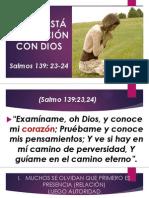 Como Está Mi Relacion Con Dios.. - ( 97-03)