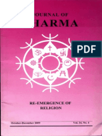 Journal of Dharma Oct - Dec. 2009 Vol. 34 No. 4