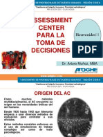 Assessment Center y Toma de Decisiones - Arturo Muñoz