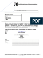 LSBF Reference Form