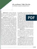 Entrevista al profesor Fals Borda