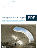 Transportation and Logistics 2030 How Will Supply Chains Evolve in an Energy-constrained Low Carbon World