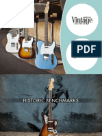 2012 Fender AmericanVintage Brochure