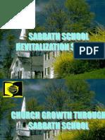 Sabbath School Promotional Talk May 31, 2014