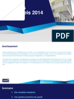 20140724 - Résultats semestriels 2014