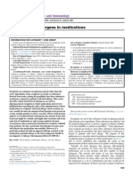 Potenciales Alergenos Alimentarios en Medicamentos.