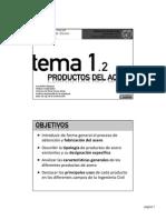 Tema 1-2 - Productos Del Acero