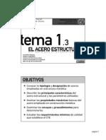 Tema 1-3 - El Acero Estructural