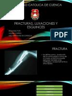 Fracturas, Luxaciones y Esguinces
