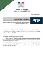 Communiqué de Presse (2) - Démenti Information Le Parisien