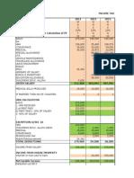 Tds Caculation Sheet