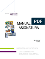 Manual de Mantenimiento y Seguridad Industrial