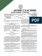 Zakon o Inspekcijama u Republici Srpskoj