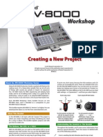 MV-8000 Workshop Series 01 Creating a New Project (PDF)
