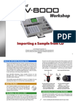 MV-8000 Workshop Series 05 Importing a Sample From CD (PDF)