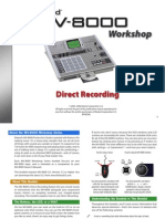 MV-8000 Workshop Series 06 Direct Recording (PDF)