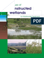The use of constructed wetlands for wastewater treatment