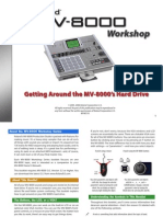 MV-8000 Workshop Series 10 Getting Around the MV-8000's Hard Drive (PDF)