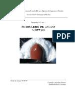 Curvas Petrolero de Crudo