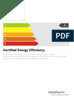 Energy Efficiency Eng - Robatherm
