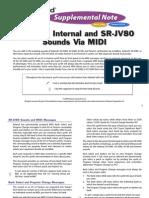 Selecting Internal and SR-JV80 Expansion Sounds via MIDI
