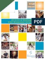 2013 Sponsorship Proposal Package
