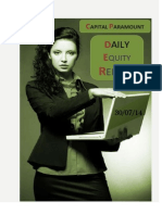 Daily Equity Report 30July by CapitalParamount