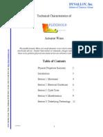 Technical Characteristics - TCF1140