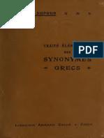 Sinónimos griegos