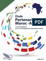 Institut Amadeus - Etude partenariat Maroc - Afrique