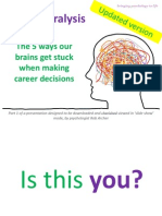 24078048 Old Version Career Paralysis Pt 1 Five Reasons Why Our Brains Get Stuck Making Career Decisions