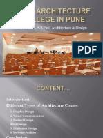 Best Architecture College in Pune