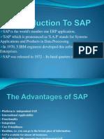Introdution of Sap