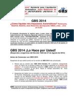 GBS2014 Innovaciones Impuestos Automaticos CREE