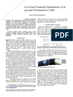 20-07-2014_Proximity Effect in Fast Transient Simulations of an Ug Cable