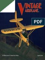 Vintage Airplane - Sep 1998