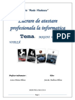 Lucrare de Atestare Profesionala La Informatica