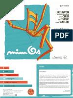 Programme Mimos 2014