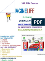 Learn SAP MM Online Training in Hyderabad | Bangalore | India -  Imagine life
