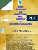 Jaii b Principles Banking Module c