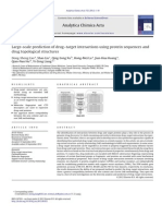Large-scale Prediction of Drug–Target Interactions Using Protein Sequences And